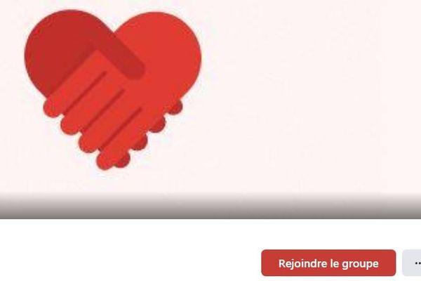 """Le logo choisi par le groupe """"Solidaires Jamais Solitaires"""" créé pour s'entraider face à une recrudescence des agressions à Bordeaux"""