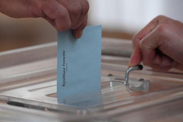 Bulletin de vote, image d'illustration.