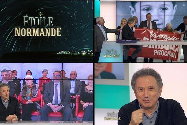 """Le Virois Michel Drucker est le premier invité de la nouvelle émission de France 3 Normandie """"Etoile normande"""""""