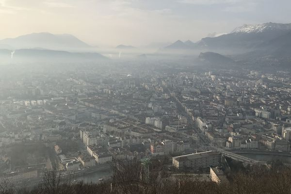 L'alerte pollution est maintenue à Grenoble. Photo d'illustration.