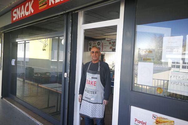 Adnan Ali a lancé son projet de restauration rapide au coeur du quartier de la Madeleine à Joigny (Yonne).