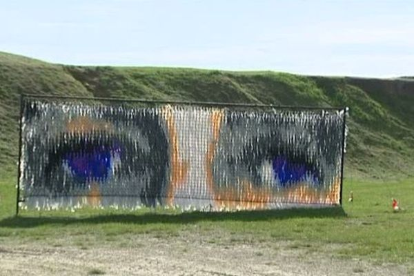 """Sur les """"Sentiers de l'Art"""",  Silence de Violaine DEJOIE-ROBIN à la Pointe du Chay à Royan (17)"""