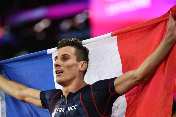 Pierre-Ambroise Bosse, champion du monde du 800 m à Londres ce mardi