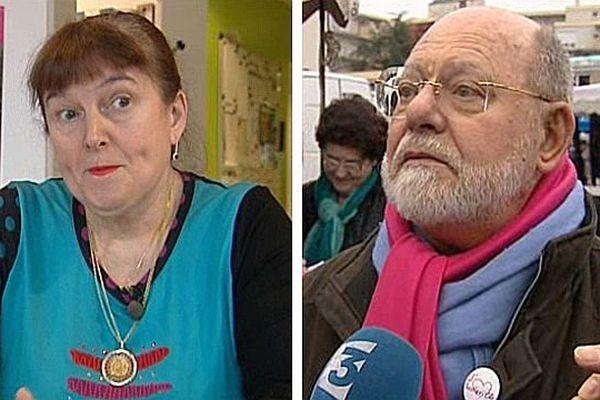 Luce  Pane et Pierre Bourguignon