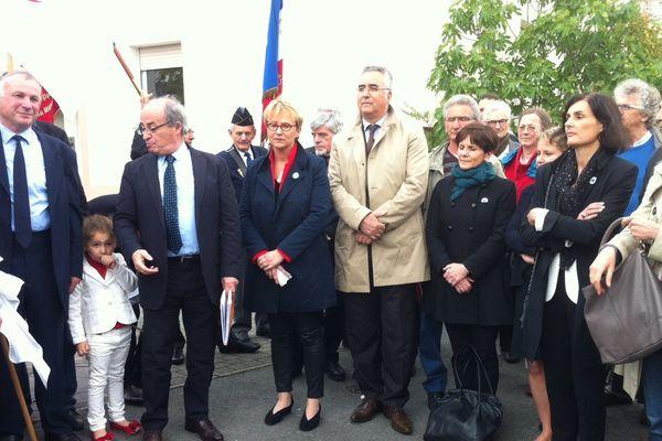La cérémonie de la commémoration du massacre de Sétif à Rennes