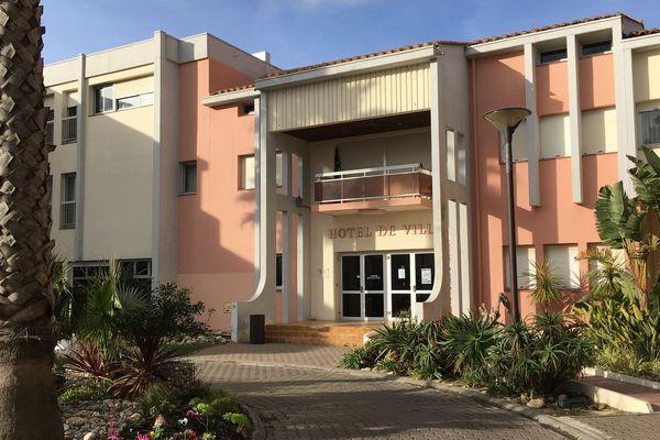 L'hôtel de ville du Barcarès
