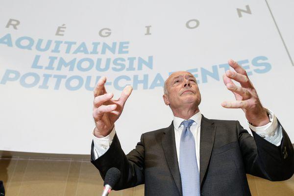 Alain Rousset cherche un nom pour la nouvelle grande région ALPC