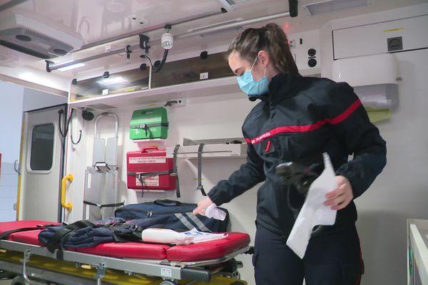 Honorine, sapeur-pompier volontaire