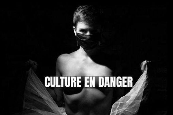 Amandine Aguilar, danseuse et professeure de danse a improvisé un ballet dans un supermarché pour dénoncer le sort réservé à la culture avec ce nouveau confinement.