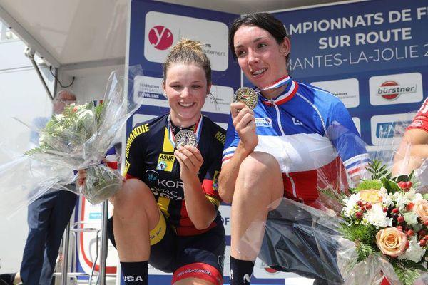 La Bretonne Aude Biannic, championne de France 2018 de cyclisme sur route