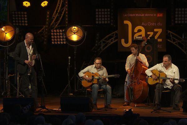 Le Biréli Lagrène Acoustic Quartet en concert à la Petite Pierre