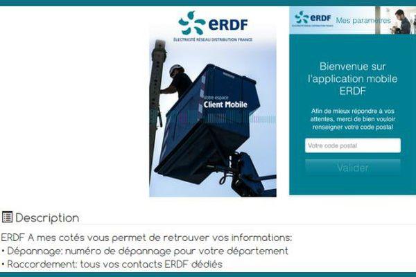 ERDF lance une application mobile pour les usagers