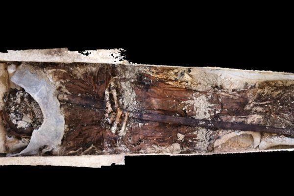 Le 15 décembre 2020, des archéologues ont découvert sur le chantier de fouilles de l'abbaye Saint-Médard à Soissons la dépouille exceptionnellement bien conservée d'Albéric de Braine, abbé du XIIIème siècle.