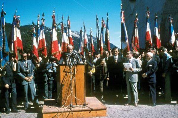 André Malraux a inauguré le monument de la Résistance en 1973.