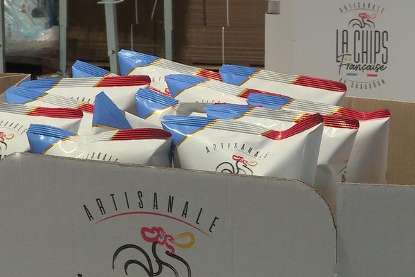 La chips française est produite dans l'Aisne à Saint-Aubin avec des pommes de terre axonaises.