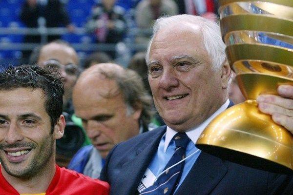 En 2003, Jean-Louis Campora et Ludovic Giuly: Monaco gagne la coupe de la ligue