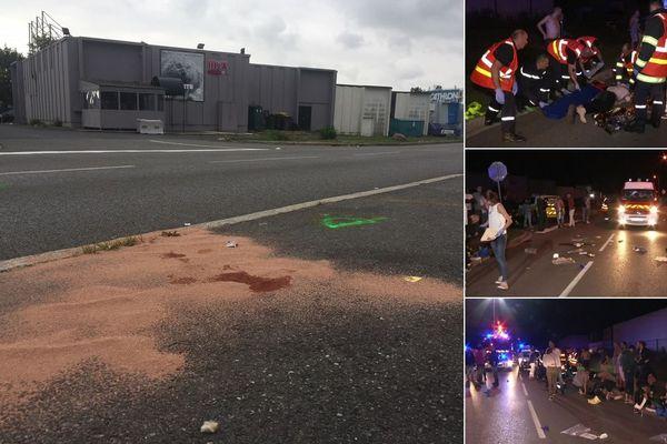Un chauffard alcoolisé a foncé dans un groupe de piéton à la sortie du Mix Bar, à Cambrai.