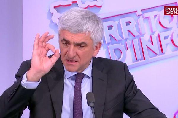 Hervé Morin était l'invité de Public Sénat ce lundi 8 janvier.