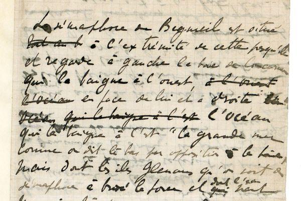 """C'est à Beg-Meil que Marcel Proust entame la rédaction de son premier roman, Jean Santeuil, prémices de son oeuvre """"A la recherche du temps perdu""""."""
