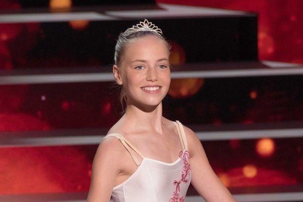 Juliette Baud le soir de sa victoire dans la saison 7 de l'émission Prodiges.