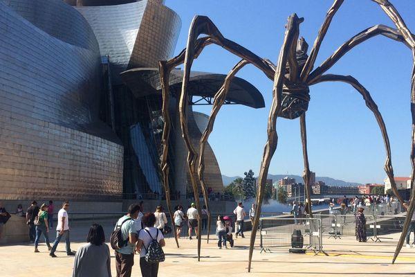 Le musée Guggenheim a dû modifier son fonctionnement pour accueillir les visiteurs en toute sécurité.