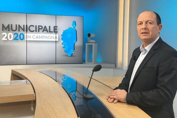 Paul-Felix Benedetti, tête de liste Bastia in Fronte