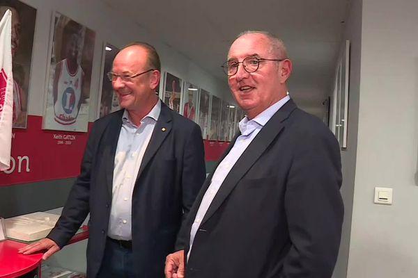 La passation de pouvoir entre Dominique Juillot et Vincent Bergeret a eu lieu ce mercredi 1er septembre.