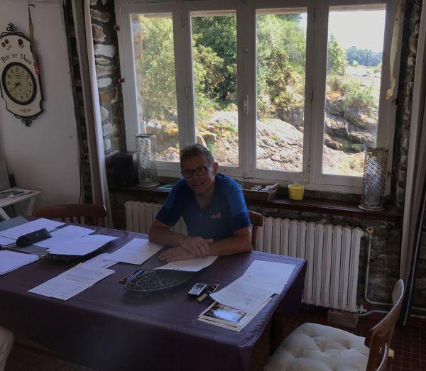 Après 20 ans de bataille juridique contre l'Etat, Christophe Triboulet ne se résout pas à laisser démolir la maison familiale. Il souhaite interpeller aujourd'hui Emmanuel Macron.