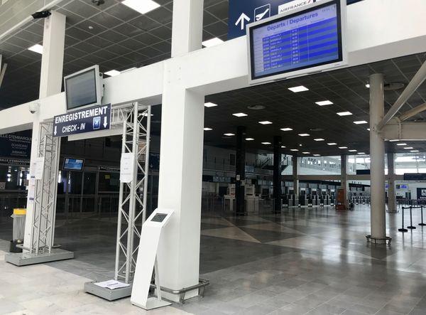 Illustration/ Durant le confinement, l'aéroport de Poretta, comme les autres aéroports de l'île, était déserté