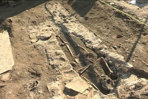 Rezé : découverte de sarcophages et de sépultures sur un chantier immobilier