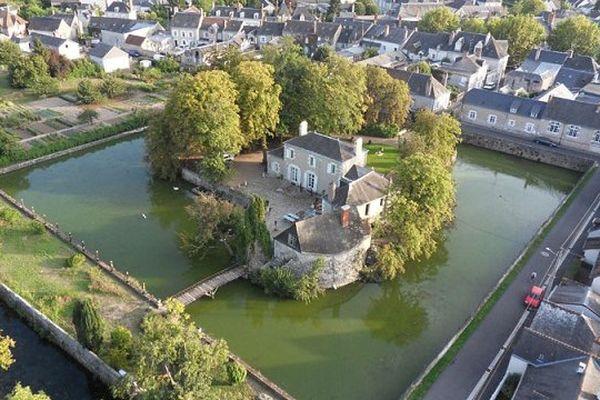 Site de l'ancien château d'Onzain (Loir-et-Cher)