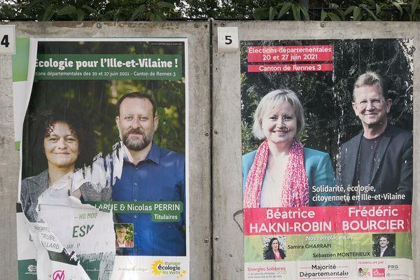 Ecologistes et PS au coude à coude pour les élections départementales dans le canton de Rennes 3
