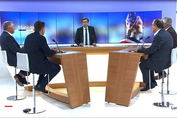 Les quatre candidats engagés au second tour ont débattu sur France 3 Lorraine.