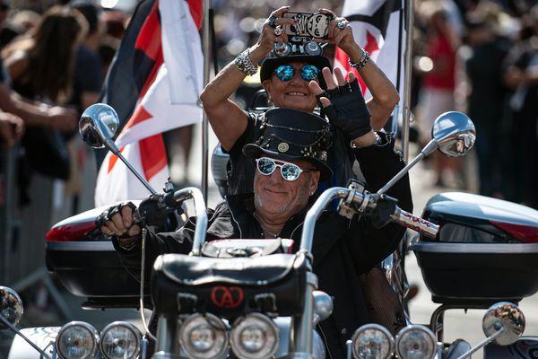 Les Morzine Avoriaz Harley Days ont réuni des dizaines de milliers d'adeptes de la grosse cylindrée américaine.