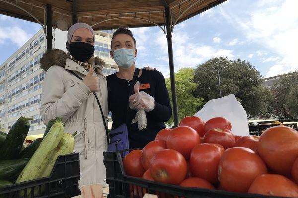 """On se sent utile"" Mssassi Jamila et Linda Djouablia association Environnement Solidaires (France Télévisions)"