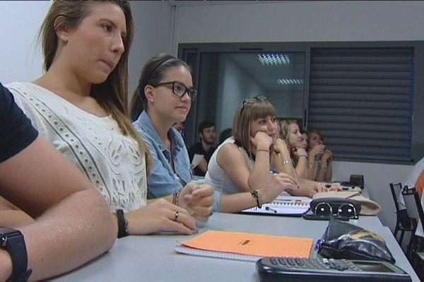 Université de Corte, le 2 septembre 2013