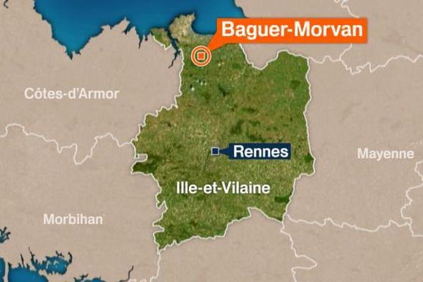 Baguer-Morvan (Ille-et-Vilaine)