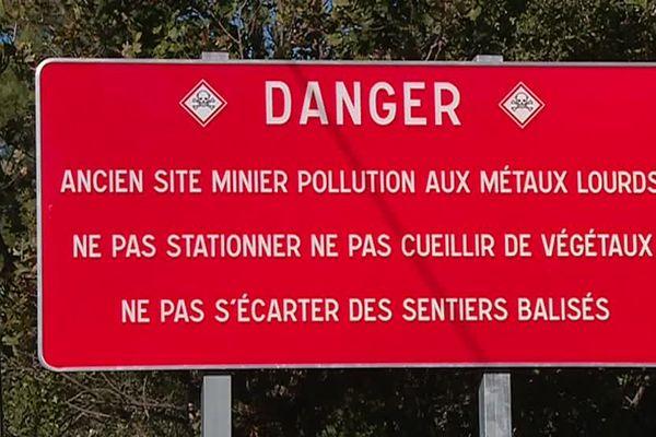 Deux sites miniers de plomb et de Zinc  du Gard sont à l'origine de cette pollution - novembre 2018