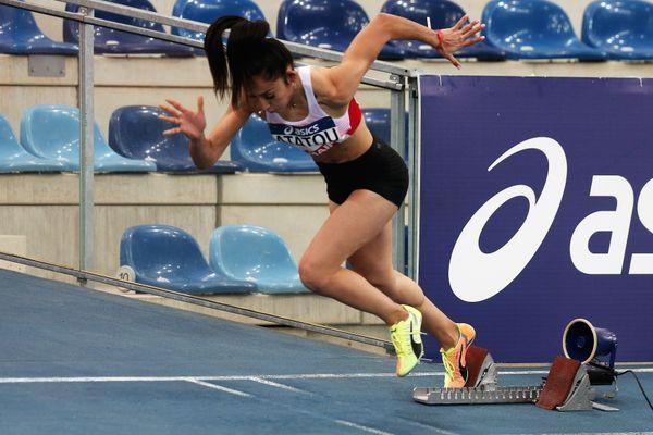 La sprinteuse Wided Atatou sera à Tokyon pour prendre de l'expérience au sein du relais français