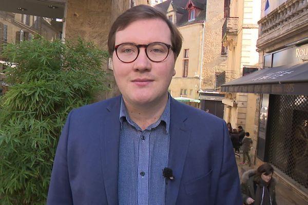 Basile Fanier, jeune et nouveau patron des Républicains en Dordogne a indiqué qu'il rejetait toute alliance avec LREM pour ces prochaines départementales