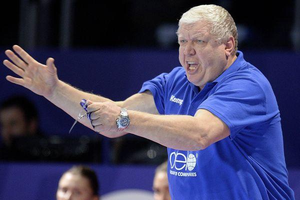 Evgueni Trefilov entraîneur de l'équipe nationale russe et du club de Kuban Krasnodar
