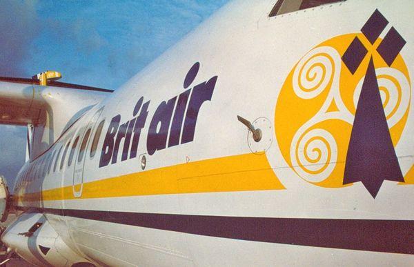 Le Triskell et l'Hermine, logo de la compagnie Brit Air
