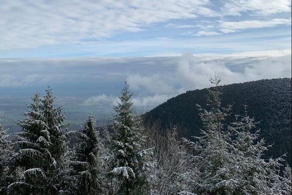 La vue depuis le mont Sainte-Odile est époustouflante.