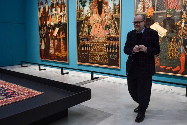 Christian Lacroix au Louvre-Lens ce mardi