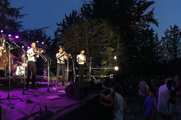 Le groupe Sweet Peppers (swing) au domaine d'O à Montpellier pour la fête de la musique 2017