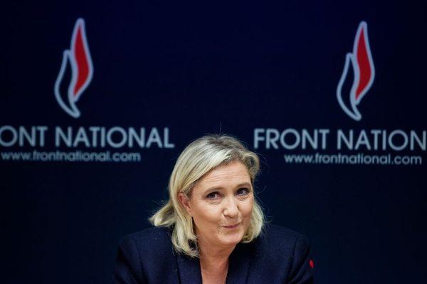 Marine Le Pen en novembre 2015