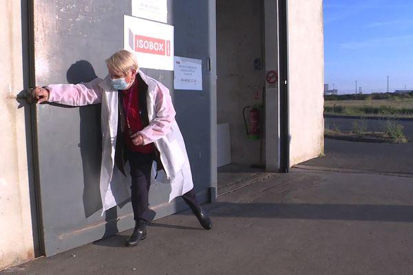 Sylvette, 75 ans, dont 61 ans passés à la criée de La Rochelle.