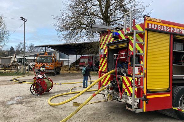 Incendie au centre équestre de Trélissac
