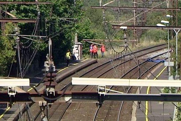 Saint-Aunès (Hérault) - un homme de 51 ans est décédé après avoir été percuté par un train - 10 juin 2014.