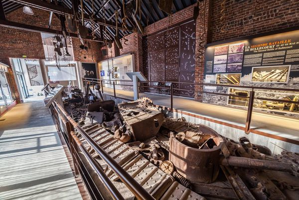 Les artefacts conservés au musée bullecourtois